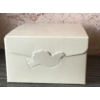 Kép 1/2 - Krém színű ajándék doboz