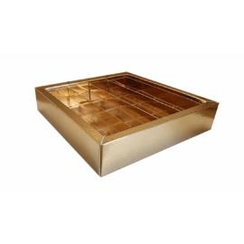 16 szemes arany doboz