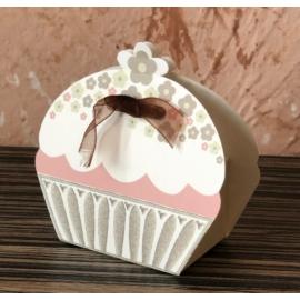 Muffin alakú dobozka