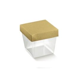Arany kocka doboz kicsi