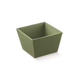 Zöld színű kínáló doboz nagy