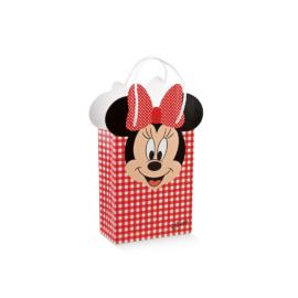 Minnie egeres ajándék tasak piros