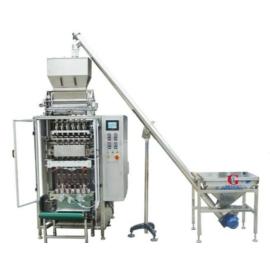 DXD-480KB-4 4 soros cukor-, és granulátumtöltő stick csomagológép
