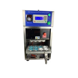 FRG2001T körbevágós félautomata pohárlezáró csomagológép