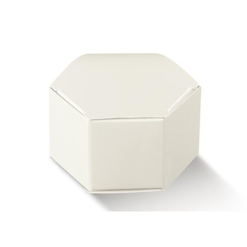Szemes fényes fehér doboz