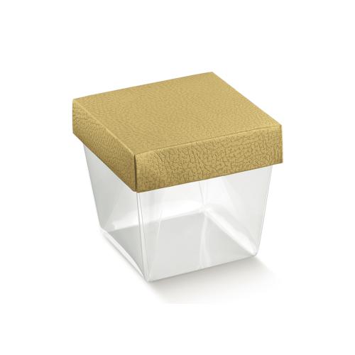 Arany kocka doboz nagy