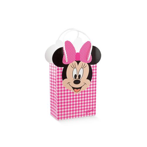 Minney egeres ajándék tasak rózsaszín