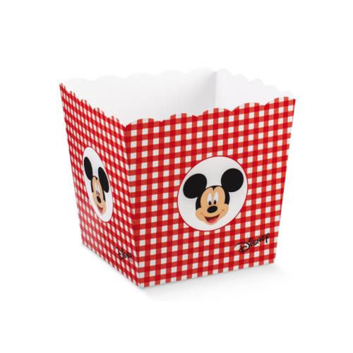 Mickey egeres  tartó piros