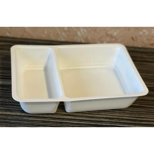 EOPP750-es 70-30 %-ban osztott ételszállító doboz, mikrózható