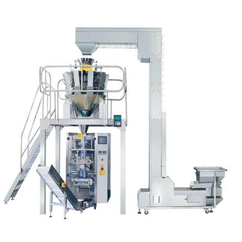 HS520T kombinált csomagológép 4 élhegesztésű csomagot készít