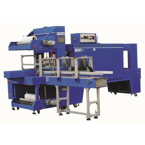 ST6040A automata 2 tekercses ölelő, zsugorfóliázó gép + BSE6040 A alagút