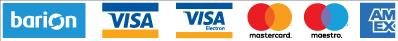 A biztonságos bankkártyás fizetést a BARION biztosítja.